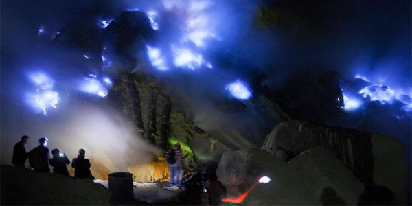 blue fire tour ijen, ijen tour banyuwangi