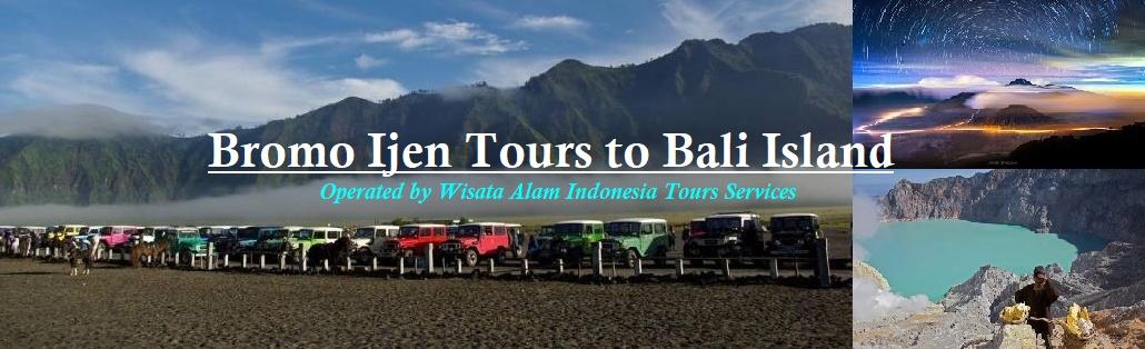 Malang Or Surabaya To Bromo Tours Ijen Crater Tour And Then