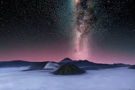 milky way bromo night trip