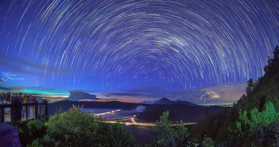 milky way tour bromo
