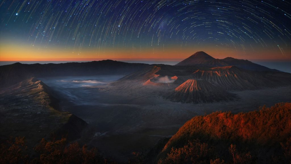 milky way tours bromo java