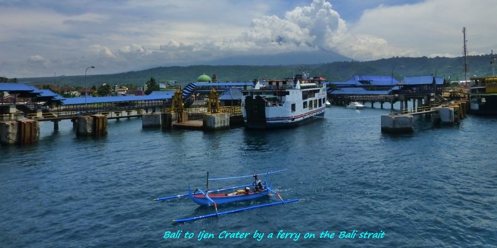 gilimanuk ferry port bali