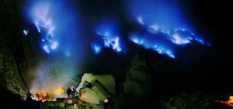 blue flame ijen tours