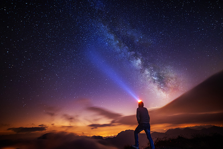 milky way bromo night tour