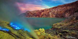 Bali to Ijen crater tour to see Ijen blue fire in Banyuwangi of East Java, Indonesia for 2 days trip