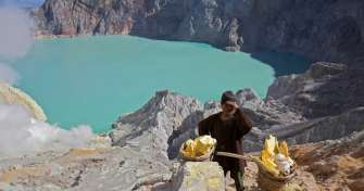 Banyuwangi to Ijen Crater or Kawah Ijen for Ijen Crater Tours with blue fire