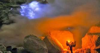 Ijen blue fire & Bromo sunrise-savannah tour to Yogya 4D