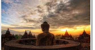Borobudur Sunrise-Prambanan & by a train for Bromo Tours 4D