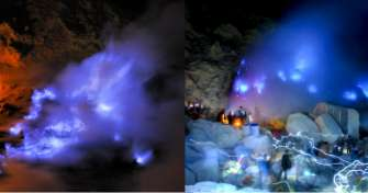Cheap price for the Ijen blue fire and Bromo tours 2D