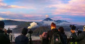Take a domestic flight from Surabaya to Banyuwangi Airport for Ijen & Sukamade-Bromo & Savannah Tour