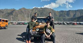The open trip / group trip which is started from Bali to Bromo and Ijen blue fire tours then back to