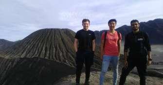 Tours to Jomblang cave, Prambanan, Borobudur, Tumpak Sewu, Bromo and Ijen crater and then to Bali fo