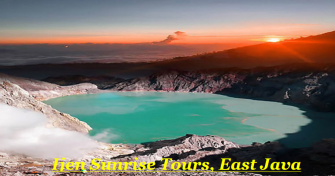 4 days package for Bromo Sunrise Tours, Banyuwangi Exploring Tours, Blue Fire Ijen Tours to Banyuwa
