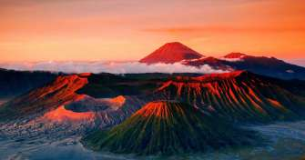 From Malang or Surabaya to mount bromo for bromo tours and sunrise bromo tours in East Java, Indones
