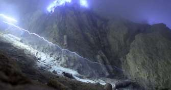 Night Bali-Blue Fire Tour Ijen Crater-Bromo & to Bali 3D