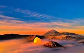 One (1) day trip at night time from Malang or Surabaya for Bromo sunrise tours and to Bali Island