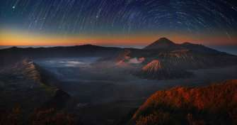 Night trip to Bromo Sunrise Tour, Bromo Savannah Tour, Blue Fire Ijen Tour & to Surabaya