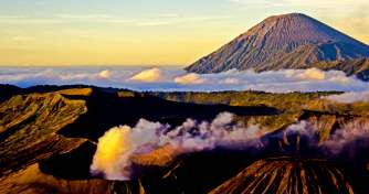 Night trip from Malang or Surabaya for Bromo sunrise, Ijen Crater with Ijen blue fire  tours & to Ba