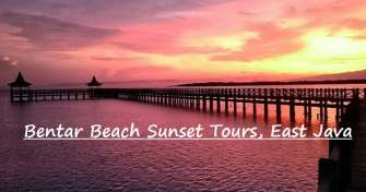 Bromo one day tour with Bentar beach sunset is popular tour package for Bromo tour to visit Bromo in