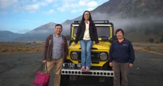 East Java overland trip from Probolinggo to Bromo sunrise and Ijen blue fire tours, then to Bali 2D