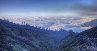 Bromo or Probolinggo to Ijen Crater Tours & drive back to Proboliggo for 2 days of Ijen expedition t