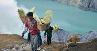 Malang or Surabaya to go to Ijen Crater for Blue Fire Ijen Tours & see Blue Flame & to Banyuwangi