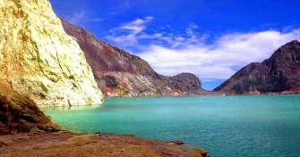 Ijen Crater tour package for 2 days trip from Malang or Surabaya for Ijen Crater tour with blue fire