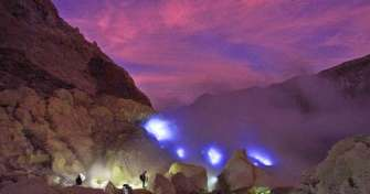 East Java adventure for Ijen tours, plantation trip Kalibaru, Bromo tours & back to Surabaya or Mala