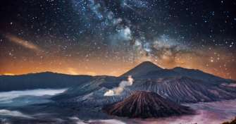Trip from Malang/ Surabaya to sunrise Bromo, Tumpak Sewu waterfall, blue fire tour Ijen Banyuwangi f