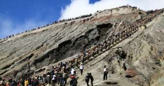 Overland trip from Yogyakarta via Solo or Surakarta in Central Java to Mount Bromo Tours East Java 2