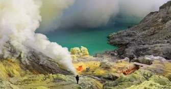 Tour package from Jogja to Surabaya by a train & drive for Blue Fire Ijen Tours, Bromo Sunrise Tours