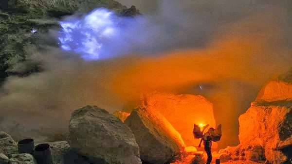 Malang or Surabaya to Ijen Tours & fly to Surabaya 2D