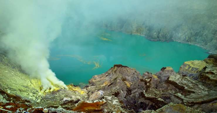 Trip to Bromo Sunrise-Savannah & Ijen-Rafting Tours 4D